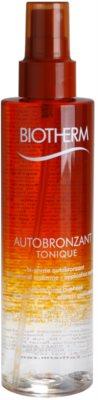 Biotherm Autobronzant Tonique двукомпонентно слънцезащитно олио за тяло