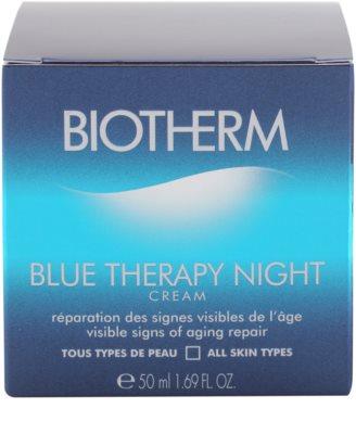 Biotherm Blue Therapy éjszakai ránctalanító krém minden bőrtípusra 3