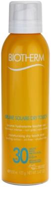 Biotherm Brume Solaire Dry Touch hidratáló napozó permet mattító hatással SPF 30