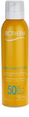 Biotherm Brume Solaire Dry Touch зволожуючий спрей для засмаги з матуючим ефектом SPF 50