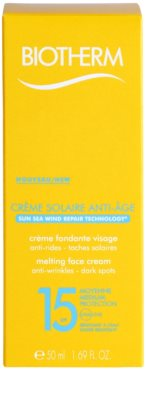 Biotherm Créme Solaire Anti-Age crema contur pentru bronzat SPF 15 2