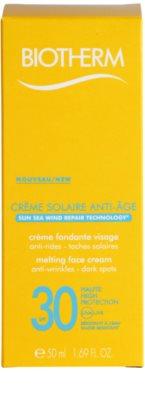 Biotherm Créme Solaire Anti-Age crema contur pentru bronzat SPF 30 2