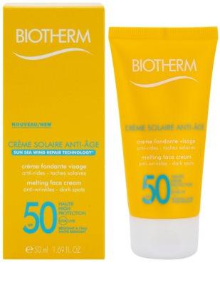 Biotherm Créme Solaire Anti-Age creme solar antirrugas SPF 50 1