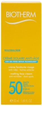 Biotherm Créme Solaire Anti-Age protivráskový krém na opalování SPF 50 2