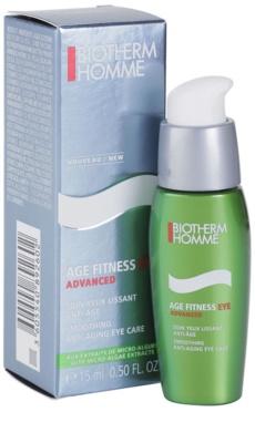Biotherm Homme Age Fitness Advanced creme de olhos gelatinoso anti-idade 1