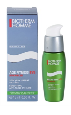 Biotherm Homme Age Fitness Advanced околоочен гел- крем анти стареене 2