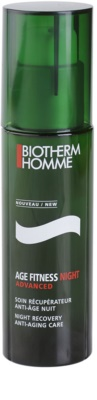 Biotherm Homme Age Fitness Advanced gel facial pentru noapte anti-imbatranire