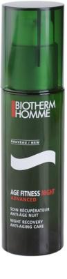 Biotherm Homme Age Fitness Advanced Gesichtsgel für die Nacht gegen die Alterung