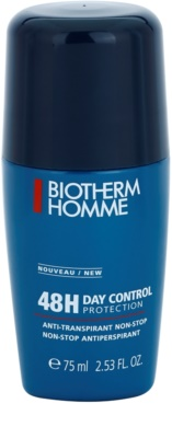 Biotherm Homme Day Control Déodorant roll-on antibacteriano sem parabenos