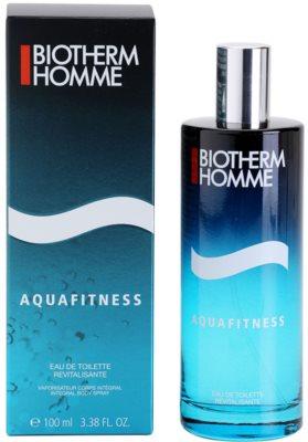 Biotherm Homme Aquafitness Eau de Toilette para homens