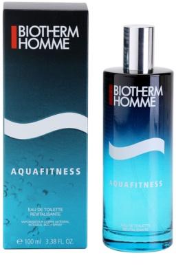 Biotherm Homme Aquafitness toaletní voda pro muže