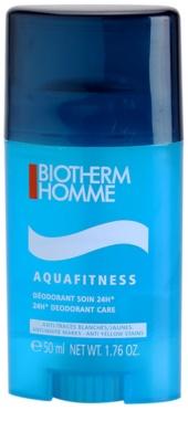 Biotherm Homme Aquafitness desodorante en barra