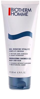 Biotherm Homme gel de banho energizante para corpo e cabelo