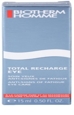Biotherm Homme Total Recharge impotriva semnelor de imbatranire a ochilor 3