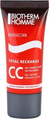 Biotherm Homme Total Recharge CC gel para um aspeto jovem