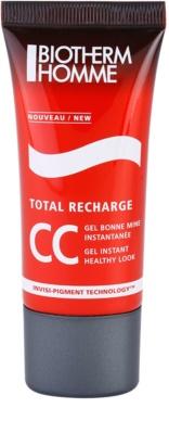 Biotherm Homme Total Recharge gel CC  para tener un aspecto sano