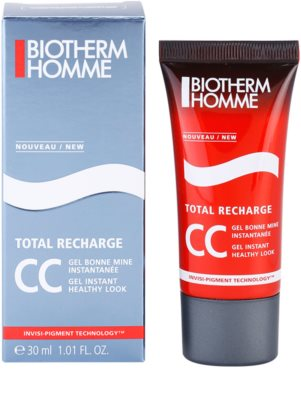 Biotherm Homme Total Recharge CC gel pro zdravý vzhled 1