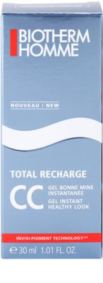 Biotherm Homme Total Recharge CC gel pro zdravý vzhled 3