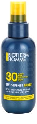 Biotherm Homme UV Defense Sport opalovací sprej SPF 30