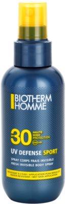 Biotherm Homme UV Defense Sport слънцезащитен спрей SPF 30
