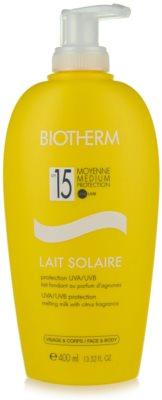 Biotherm Lait Solaire losjon za sončenje SPF 15
