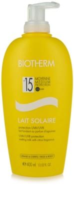 Biotherm Lait Solaire mléko na opalování SPF 15
