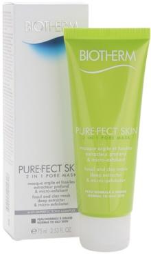 Biotherm PureFect Skin Reinigungsmaske 2in1 1