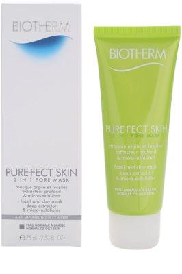 Biotherm PureFect Skin Reinigungsmaske 2in1 2