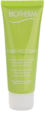 Biotherm PureFect Skin почистваща маска  2 в 1