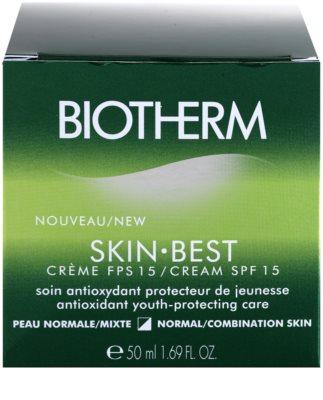 Biotherm Skin Best crema de fata antioxidanta pentru piele normala si mixta 4