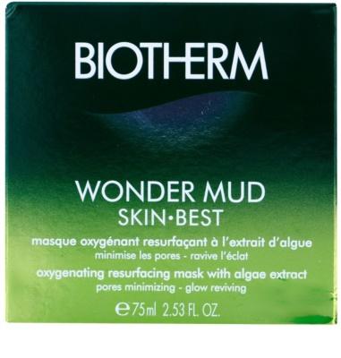 Biotherm Skin Best máscara oxigenante e revitalizadora com extratos de algas 2