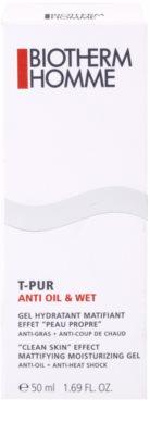 Biotherm Homme T-Pur Anti Oil & Wet hydratačný gel pre mastnú pleť 4