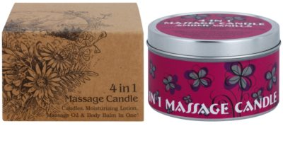 BK Beauty Body Spa Amber Vanilla Massagekerze 4 in 1 2