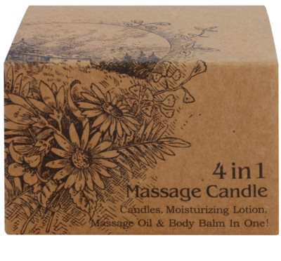 BK Beauty Body Spa Amber Vanilla Massagekerze 4 in 1 3