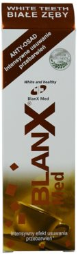 BlanX Med fehérítő paszta fogkő és foltok ellen mikro granulátummal 2