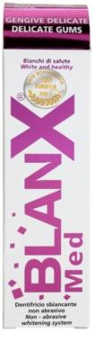 BlanX Med bleichende Zahnpasta für empfindliches Zahnfleisch 1