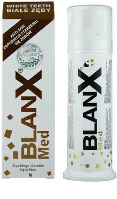 BlanX Med Paste stärkt den Zahnschmelz 1