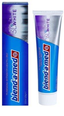 Blend-a-med 3D White паста за зъби с избелващ ефект 1