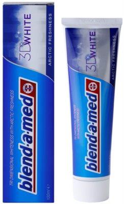 Blend-a-med 3D White Arctic Freshness Zahnpasta mit bleichender Wirkung 1