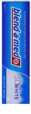 Blend-a-med 3D White Delicate White pasta do zębów o działaniu wybielającym 2
