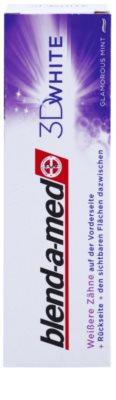 Blend-a-med 3D White Glamorous Mint pasta de dientes con efecto blanqueador 2