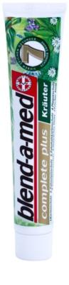 Blend-a-med Complete 7 Herbs Kräuterpaste für den kompletten Schutz Ihrer Zähne