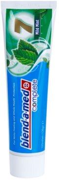 Blend-a-med Complete 7 Mild Mint dentífrico para proteção completa de dentes