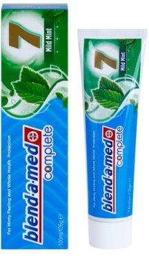Blend-a-med Complete 7 Mild Mint pasta de dientes para una protección completa para dientes 1