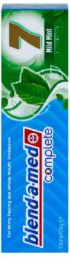 Blend-a-med Complete 7 Mild Mint pasta de dientes para una protección completa para dientes 2