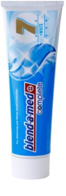 Blend-a-med Complete 7 + White fogkrém a fogak teljes védelméért