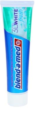 Blend-a-med 3D White Fresh Extreme Mint Kiss zobna pasta za beljenje zob za svež dah