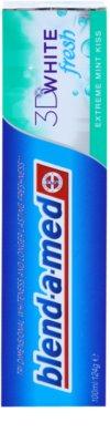 Blend-a-med 3D White Fresh Extreme Mint Kiss zobna pasta za beljenje zob za svež dah 2