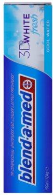 Blend-a-med 3D White Fresh Cool Water wybielająca pasta do zębów odświeżający oddech 2