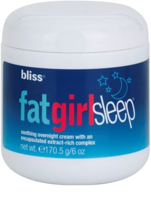 Bliss Body Firming & Toning festigende Nachtcreme für den Körper 1